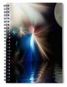 Fairy's Moonlight Ball Spiral Notebook