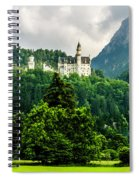 Fairytale Castle Neuschwanstein  Spiral Notebook