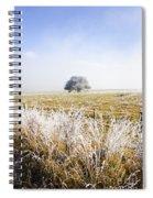Fairytale Winter In Fingal Spiral Notebook