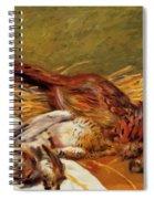 Faisans Canapetiere Et Grives 1902 Spiral Notebook