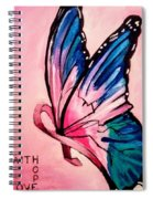 Faith For The Cure Spiral Notebook