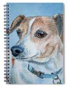Beloved Dog Commission By Irina Sztukowski  Spiral Notebook