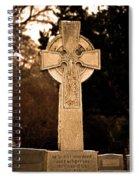 Faithful Until Death Spiral Notebook