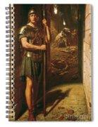 Faithful Unto Death Spiral Notebook