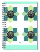 Fake Flowers Spiral Notebook