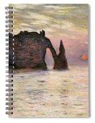 Falaise Detretat Spiral Notebook