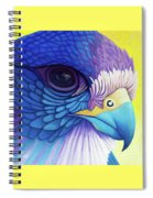 Falcon Medicine Spiral Notebook