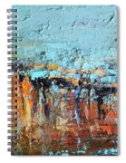 Fall Abstractions Spiral Notebook