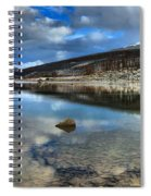 Fall Afternoon At Medicine Lake Spiral Notebook