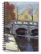 Fall At Delaware Park Buffalo Spiral Notebook