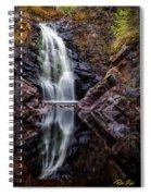 Fall At Fall River Falls Spiral Notebook