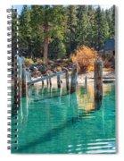 Fall At Skunk Harbor Lake Tahoe Spiral Notebook