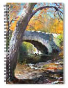 Fall At Three Sisters Islands Spiral Notebook