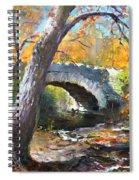 Fall At Three Sisters Islands Spiral Notebook