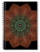 Fall Blossom Zxk-4310-2a Spiral Notebook