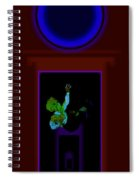Fall Blue Spiral Notebook