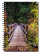 Fall Bridge Spiral Notebook