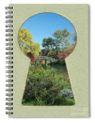 Fall Brisge Keyhole Spiral Notebook