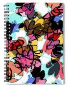Fall Cartoon Spiral Notebook