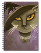 Fall Cat Spiral Notebook