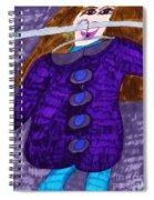 Fall Coat Sale Spiral Notebook