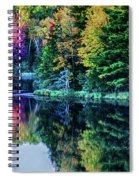 Fall Color Explosion Spiral Notebook