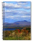 Fall Colors At Lake Carmi Spiral Notebook