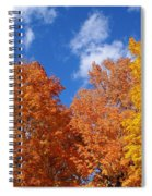 Fall Colors In Spokane Spiral Notebook