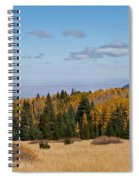 Fall Colors In The Inner Basin Spiral Notebook