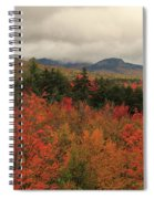 Fall Colors In White Mountains New Hampshire Spiral Notebook