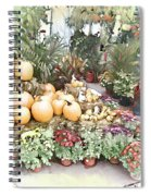 Fall Decorating At The Market Spiral Notebook