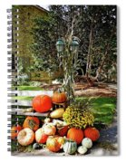 Fall Display Spiral Notebook