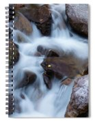 Fall Falls In Vail Spiral Notebook