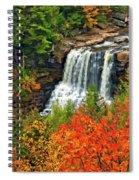 Fall Falls Spiral Notebook