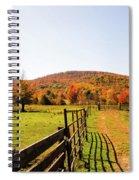 Fall Farm #4 Spiral Notebook