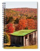 Fall Farm No. 6 Spiral Notebook