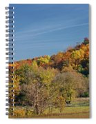 Fall Farmyard Spiral Notebook