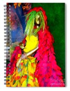 Fall Fashionista Spiral Notebook