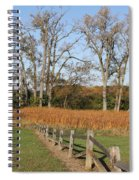 Fall Fence Spiral Notebook