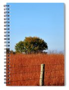 Fall Field Spiral Notebook
