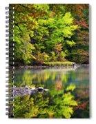 Fall Foliage Reflection Spiral Notebook