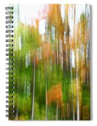 Fall Forest Colors Spiral Notebook