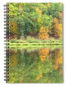 Fall Forest Reflection Spiral Notebook
