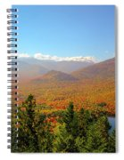 Fall From Mount Jo Spiral Notebook