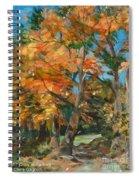 Fall Glory Spiral Notebook
