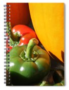 Fall Harvest Spiral Notebook