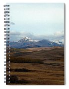 Fall Hills Rolling Towards The Mountains Spiral Notebook