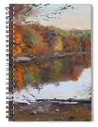 Fall In 7 Lakes Spiral Notebook