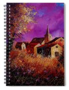 Fall In Ardennes  Spiral Notebook
