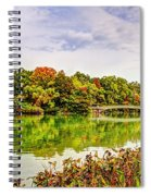 Fall In Central Park Spiral Notebook
